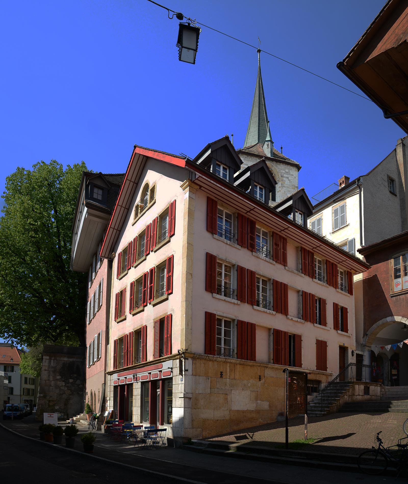 Untergasse 19, Wohnhaus erbaut 1839-45. Ladeneinbau um 1910.