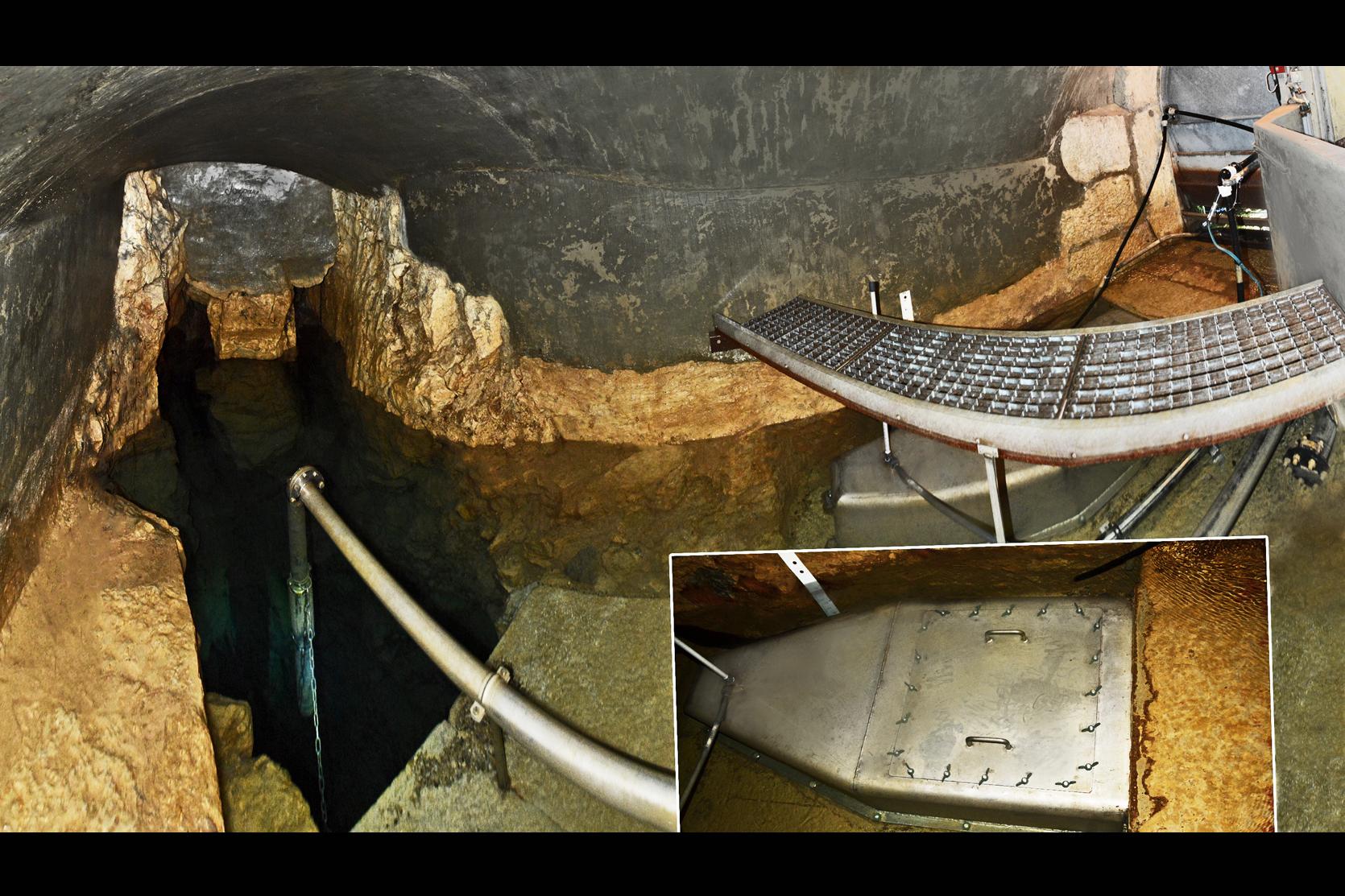 Depuis quelques années, la source des Romains n'est plus raccordée au réseau communal d'eau potable. Toutefois, elle aliment encore des fontaines privées de la Vieille Ville.