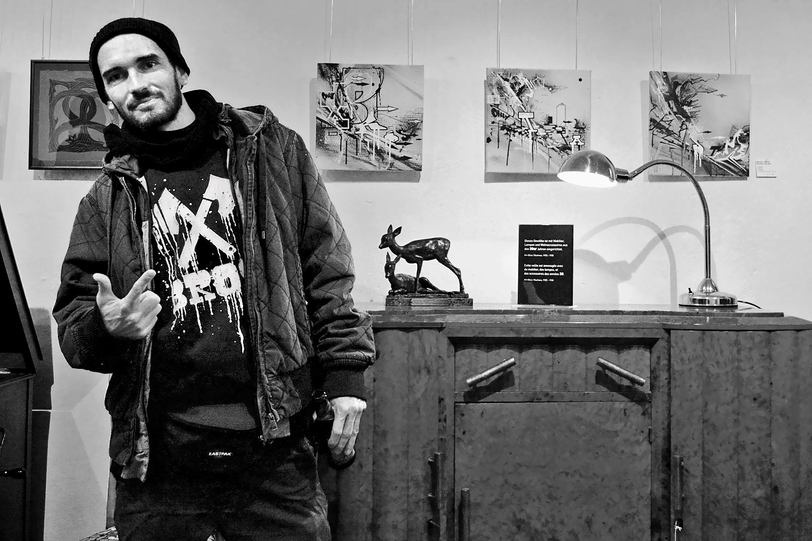 Ausstellung der Graffiti-Künstler X-Bros