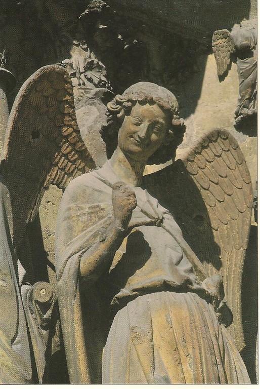 Cathédrale de REIMS   L'Ange au sourire