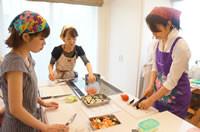 小金井料理教室実習風景