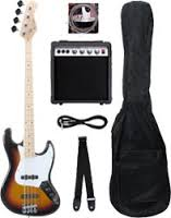 e.Bass, Verstärker, Tasche, Stimmgerät, Gurt & Kabel
