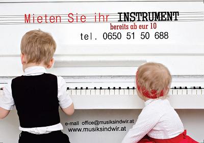 Piano, Kinder und die Freude am Musizieren