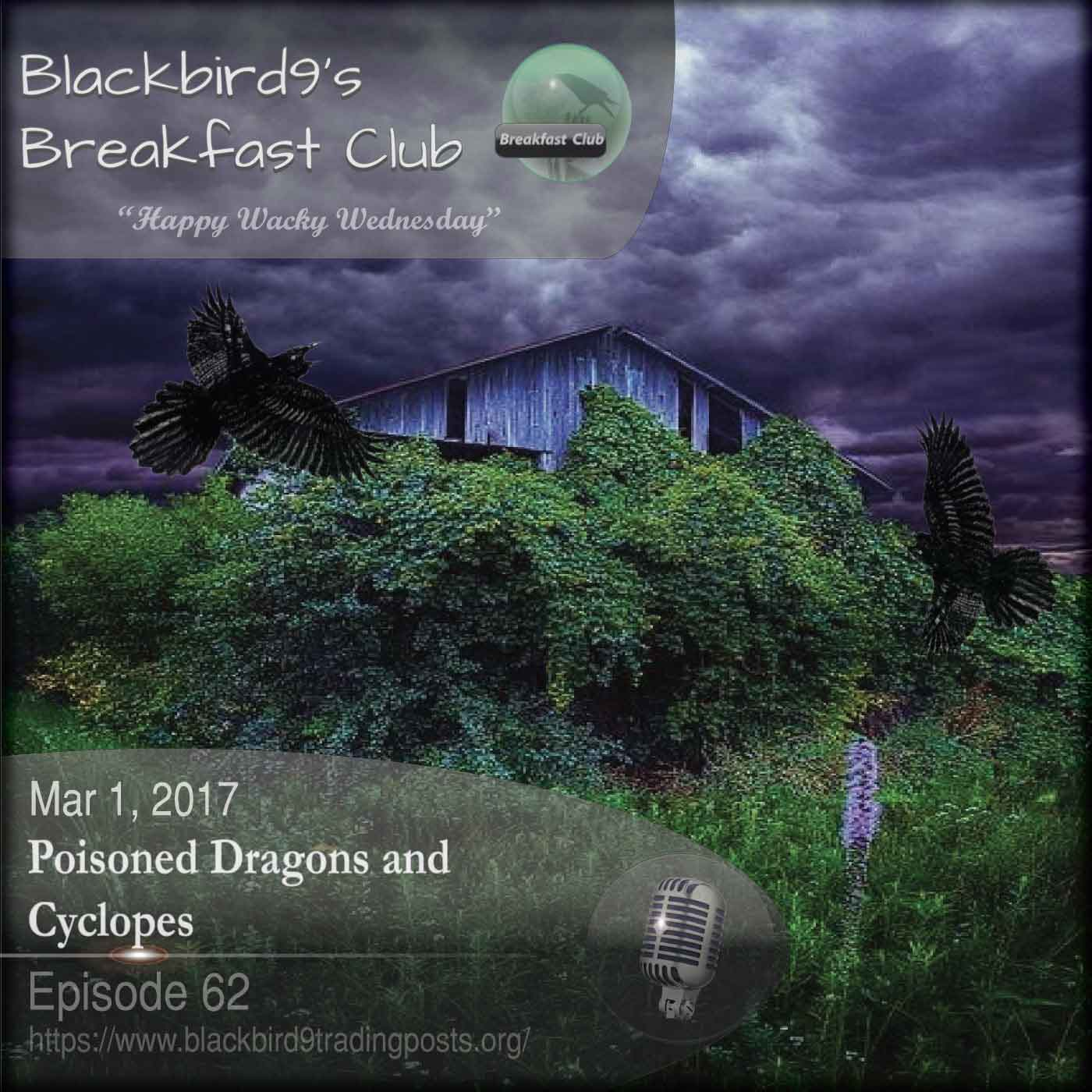 Poisoned Dragons and Cyclopes - Blackbird9