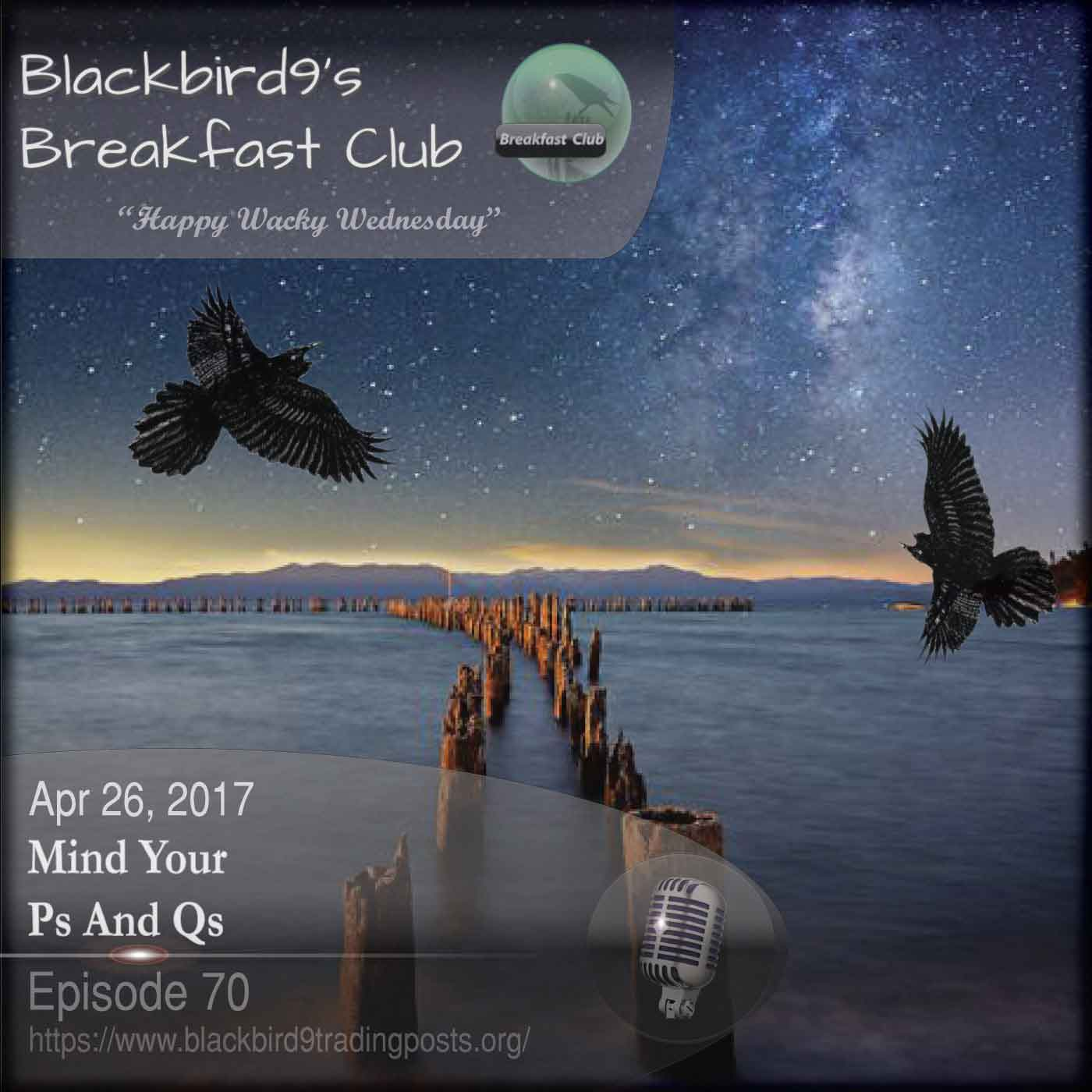Mind Your Ps And Qs  - Blackbird9