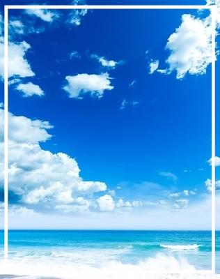 sea & blue sky