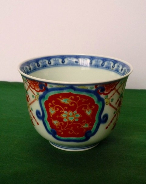 別アングルからの湯呑茶碗