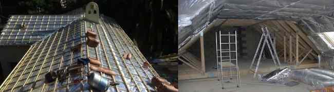 isolant  écran de sous toiture