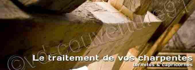 traitement charpente entreprise de couverture toiture. Black Bedroom Furniture Sets. Home Design Ideas