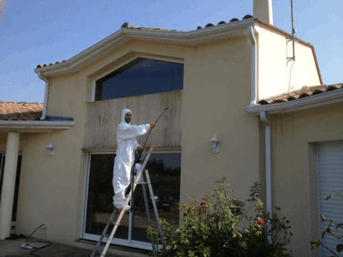 nettoyage peinture facade