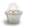 zünde Kerze an