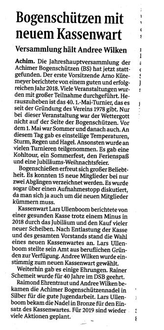 Weserreport 02/19