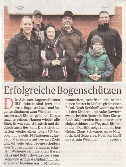Achimer Kreisblatt am Sonntag / 03/19