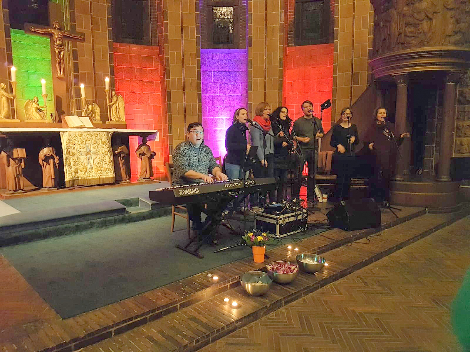 Praiselbears beim Offenen Gospelsingen in der Martin-Luther-Gedächtniskirche, Berlin-Mariendorf, 2019