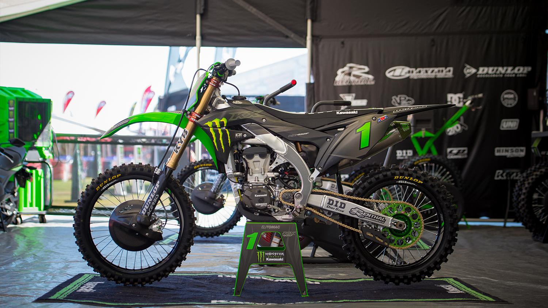 Diller Powerparts D Cor Mx Motocross Dekore F R Kawasaki
