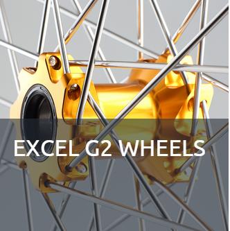 EXCEL G2 WHEELS Räder für den Hobby Fahrer zu extrem gutem Preis und top Qualität