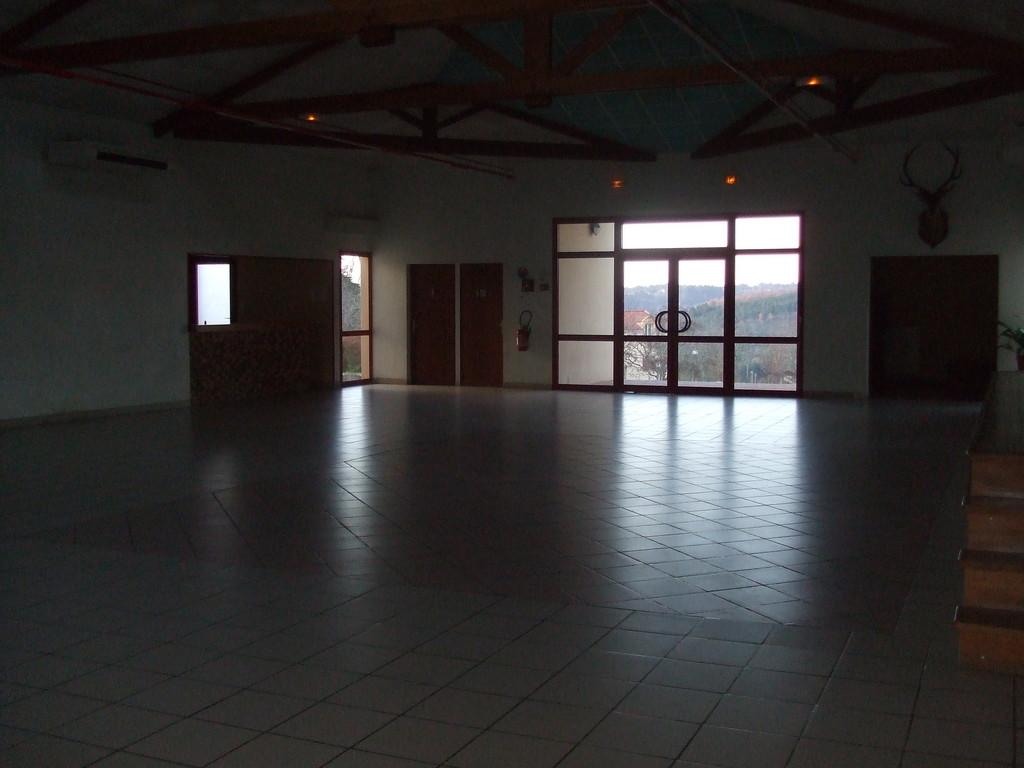 Salle de la salle des fêtes