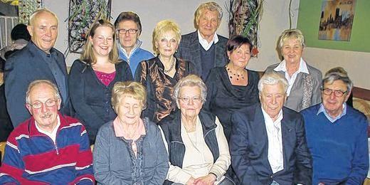 Ehrung langjähriger Mitglieder - 2011