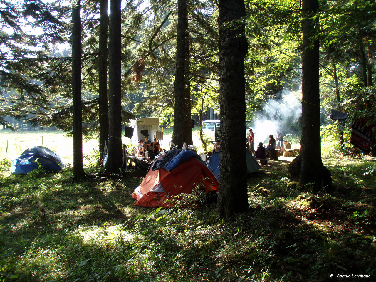 Eine Woche im Wald