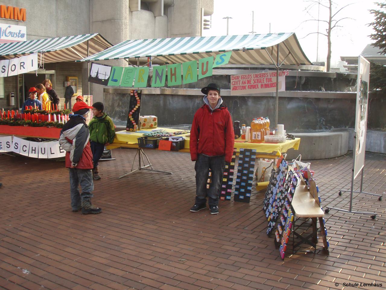 Weihnachtsmarkt in Brugg