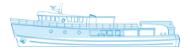 Deckplan des Schiffes Seahunter auf der Kokosinseln, ©Underseahunter Group