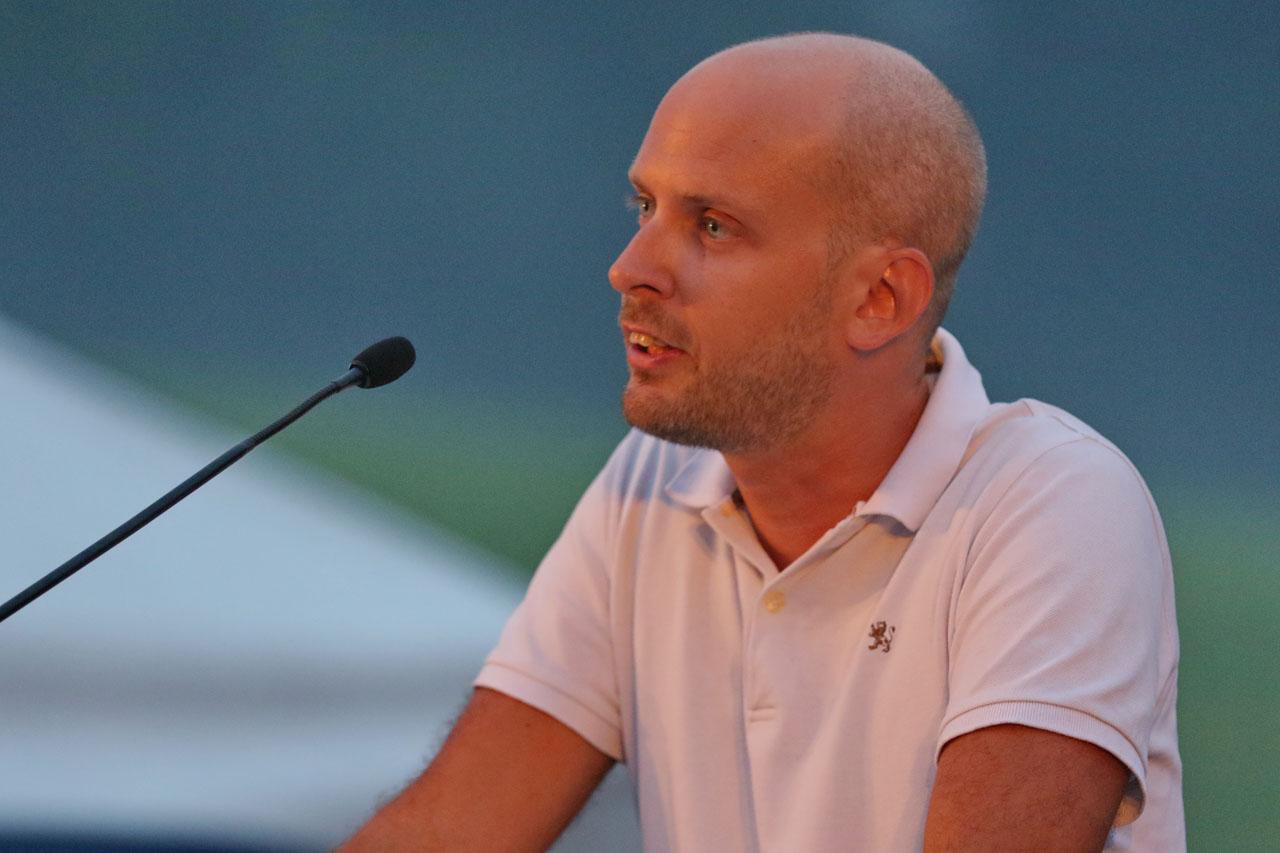 Die Festansprache hält turnusgemäss der amtierende Grossratspräsident: Joël Thüring