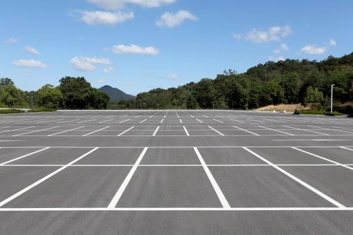 駐車場ライン引き