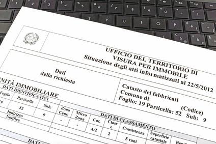 Catasto online architetto manuel tonolini for Visura catastale per soggetto gratis