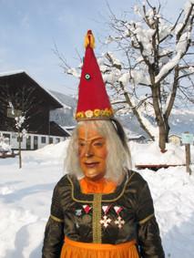 Frau Perchta schön