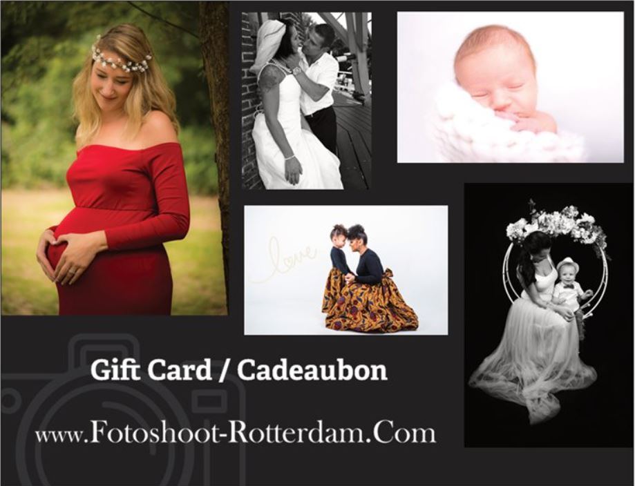 gift card for photo shoot