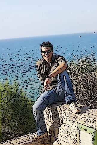 Tobi Leilason am Meer