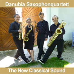 Buchen Sie das Danubia Saxophonquartett!