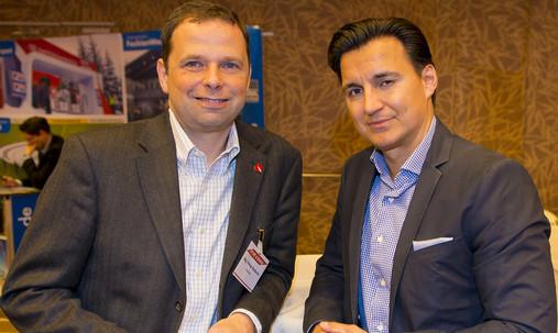 """Sportsponsoring-Kongress """"Sport & Marke"""" 2014: Mag. Philipp Bodzenta, Konzernsprecher Coca-Cola, Mag. Heralic"""