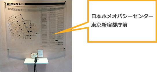 JR新宿駅、丸ノ内線新宿駅からの道順⑧