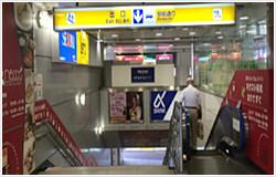 京成船橋駅からの道順①