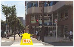 京成船橋駅からの道順③