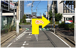 東海神駅からの道順⑥