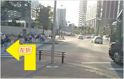 JR新宿駅、丸ノ内線新宿駅からの道順⑤