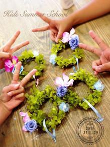 紫陽花ミニリース