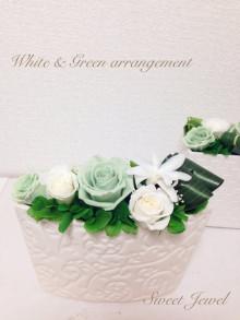 ホワイト&グリーン 4980yen