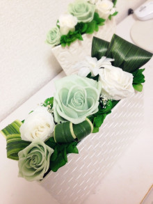 ホワイト&グリーンBOX 4980yen