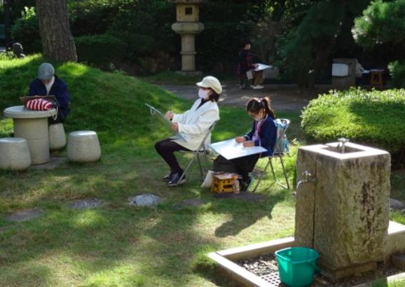 【参加費無料】2021年4/24(土)ギャラリー・いなげ春のスケッチ会
