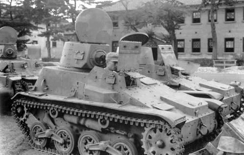 On peux voir le Type 94 comme un savant mélange entre la tankette britannique et le Type 92