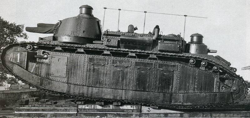 Le FCM 2C atteint un degré d'évolution bien supérieur aux possibilités de conception du Japon