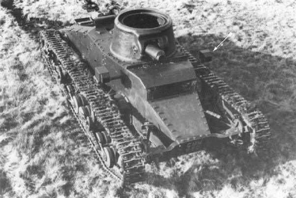 Le prototype préfigure assez fidèlement la forme générale du char d'infanterie
