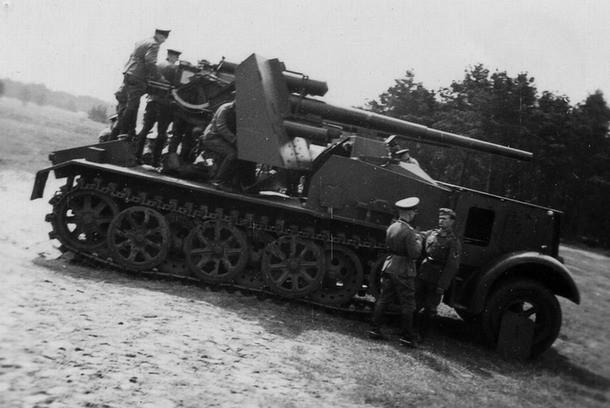 Le Bunker-flak, bricolage de fortune pour combler le manque de canon d'assaut motorisé