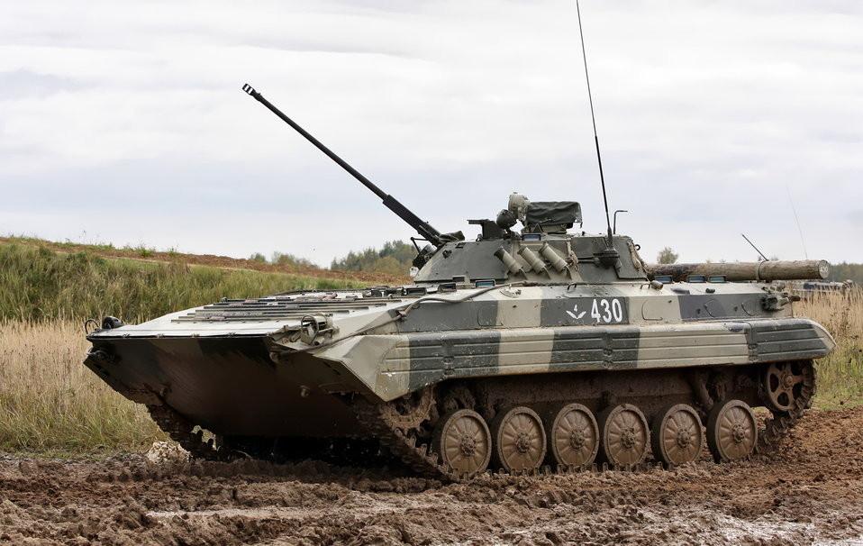 L'élévation impressionnante du BMP-2 lui permet de faire face à toutes les situations
