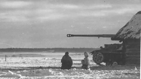 Les immenses steppes russes sont parfaites pour le Pak 43