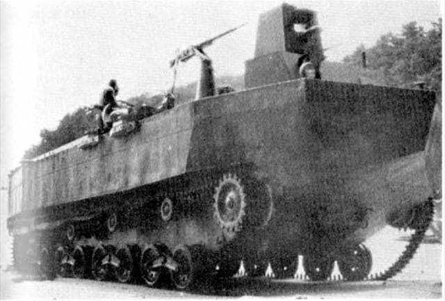 Le Japon effectue de nouveaux recherches dans le domaine amphibie à l'image de ce Type-4 Ka-Tsu