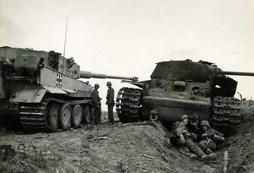 La confiance des équipages de KV vole en éclat lorsque qu'apparait le char Tigre sur l'Ostfront